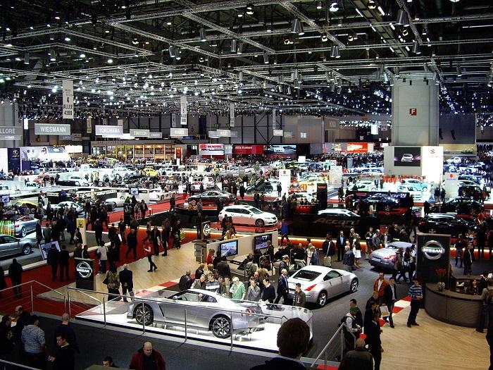 Ramainya pameran otomotif dunia Geneva Motor Show sebelum Covid-19
