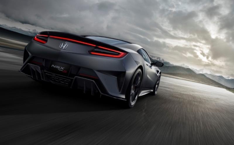 Honda NSX Type S hadir dengan peningkatan performa sertadesain yang lebih agresif dan hadirkan kesenangan berkendara yang lebih
