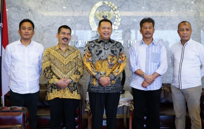 Bamsoet bersama Walikota Batam Muhammad Rudi dan SKPD Batam, matangkan rencana Sirkuit International di Batam