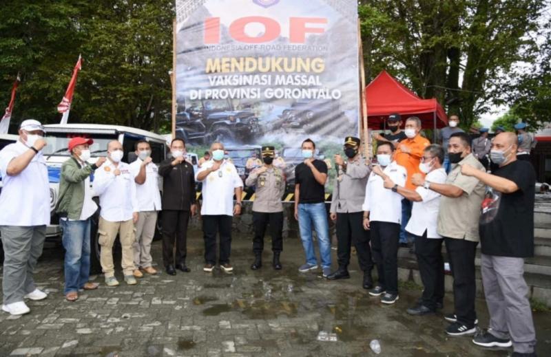 Pengda IOF Gorontalo sukses merangkul semua elemen sukseskan program pemerintah. (Foto ; wahyu)