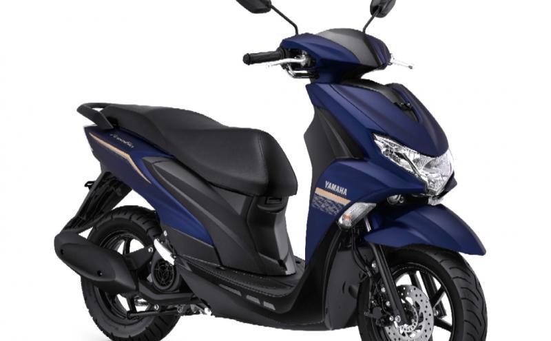 Yamaha FreeGo dengan beberapa warna baru membuat semakin modern dan elegan