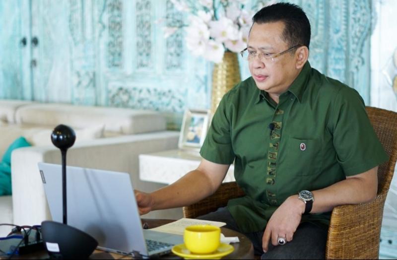 Bambang Soesatyo selaku Ketua MPR-RI dan Ketua Umum IMI Pusat