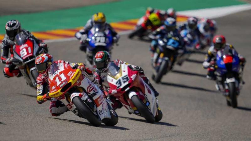 Fabio DiGiannantonio sukses memperbaiki posisi di akhir balapan GP Aragon 2021
