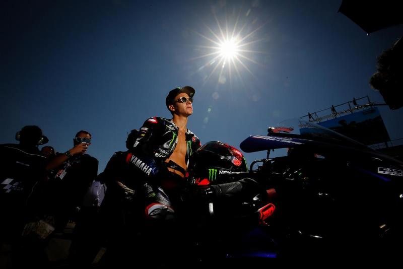 Fabio Quartararo (Prancis/Yamaha), dua seri di Misano ideal untuk mengunci gelar juara dunia 2021. (Foto: motogp)