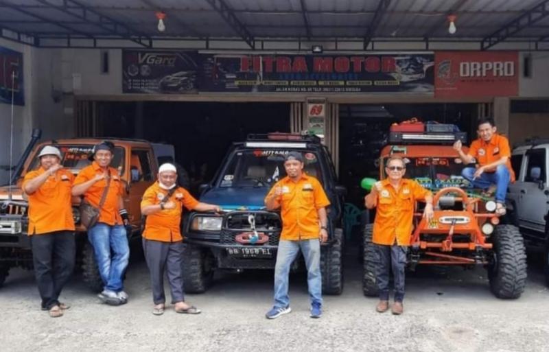 Ketua Pengcab IOF Sibolga-Tapteng ikut main bersama tim Pattykalo Offroad