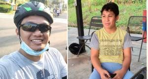 Arian Prabowo (kiri) dan Daffa AB, kakak beradik di ajang balap simulator dan di kelas yang sama. (kolase)