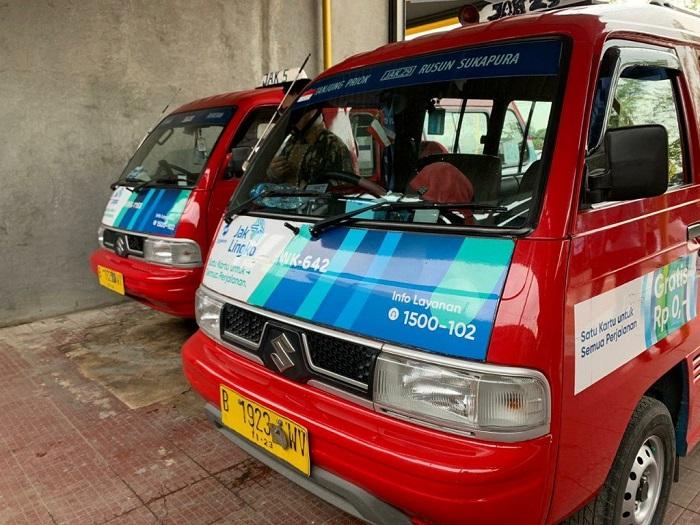 Angkutan kota Jakarta yang menggunakan Suzuki Carry, kini siap difasilitasi dengan AC dan audio