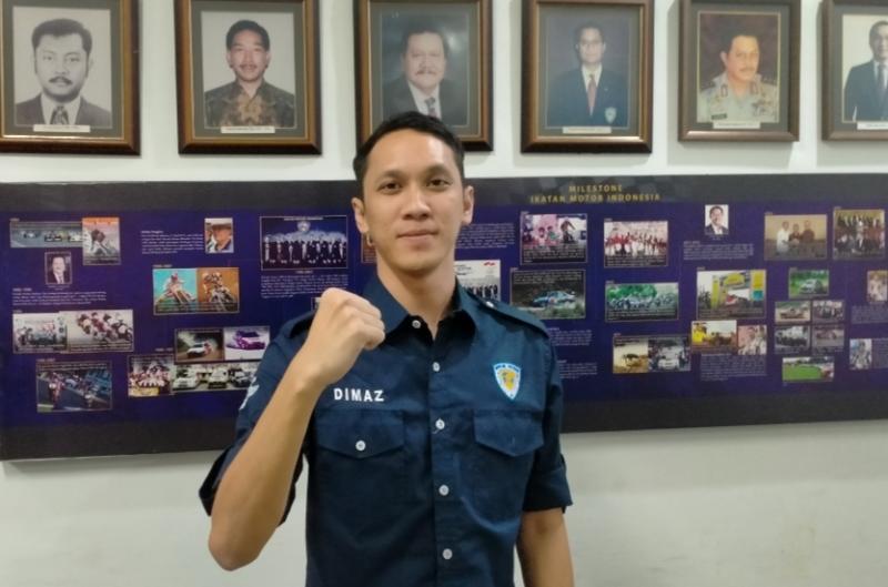 Dimaz Raditya, didapuk sebagai Ketua Harian IMI DKI Jakarta periode 2021-2025