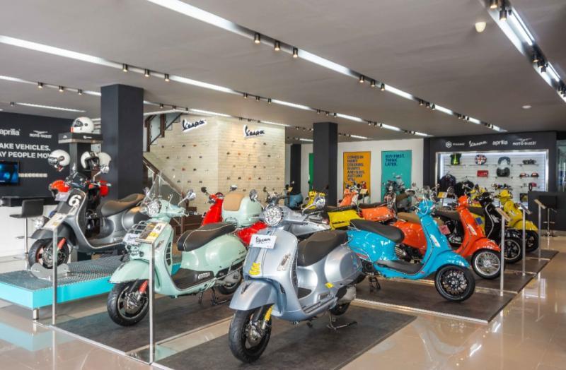 Motoplex 4 Brand PT Piaggio Indonesia untuk menangkap potensi pasar yang besar Di Jawa Timur