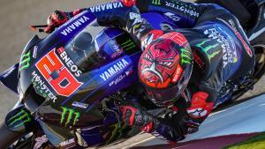 Fabio Quartararo (Prancis/Yamaha), menanti gelar di dua seri lagi. (Foto: motorsportmagazine)