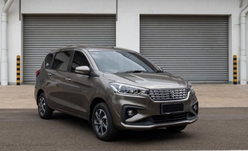 Model All New Ertiga, yang menjadi salah satu model yang berkontribusi pada penjualan PT Suzuki Indomobil Sales