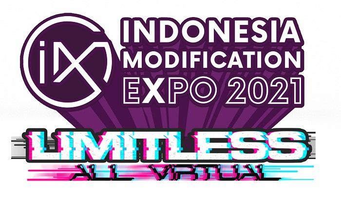 Logo IMX 2021 Limitless yang akan menampilkan berbagai konten melalui panggung virtual