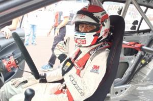 Haridarma Manoppo, pembalap andalan Toyota Team Indonesia yang selalu semangat tinggi untuk meraih hasil maksimal di ajang balap mobil ISSOM