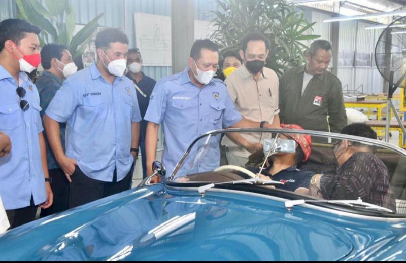 Bamsoet dan Sandiaga Uno usulkan atur industri modifikasi otomotif melalui Peraturan Pemerintah