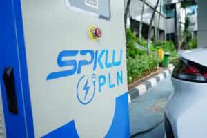 SPKLU dari PLN yang akan menjadi stasiun utama pengisian baterai mobil listrik