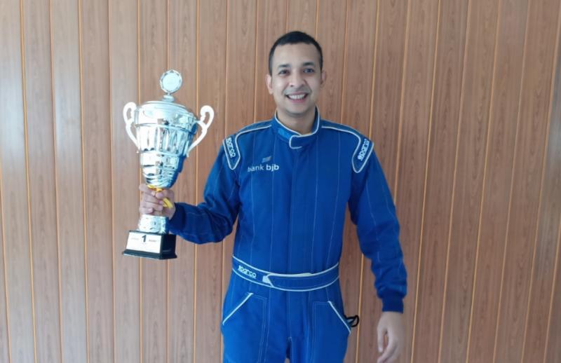 Avan Abdullah siap lakukan yang terbaik di seri 3 Kejurnas ITCR 1.500 (foto: bs)