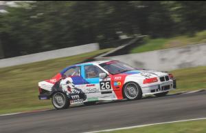 Victor Herryanto kembali mencetak kemenangan di kelas Rookie BMWCCI One Make Race Championship di Sentul International Circuit, Minggu (26/9/2021)