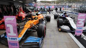 McLaren dan Ferrari di front row GP Rusia, Mercedes vs Red Bull di belakang. (Foto: mclaren)