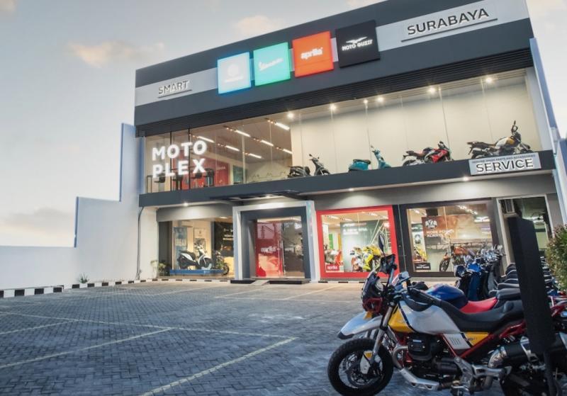 Premium Motoplex Dealership 4 brand terbaru di Surabaya.