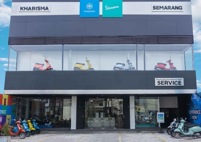 PT Piaggio Indonesia kembali memperkuat layanan premium Motoplex untuk Piaggio dan Vespa di kota Semarang, Jawa Tengah