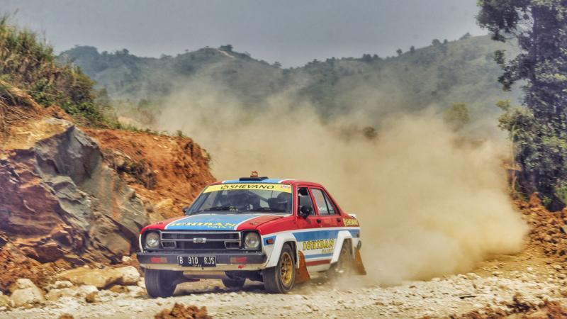 Riset mobil reli Datsun dianggap Ronny JS berhasil di sirkuit Stage Park Sentul, Bogor. (Foto: hf)
