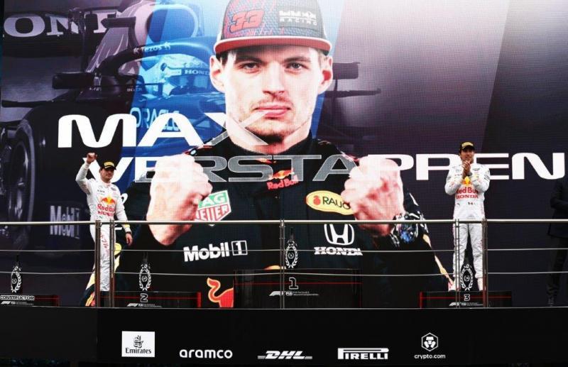 Mobil Lubricants apresiasi capaian podium Max Verstappen dan Sergio Perez di GP 2021 Turki