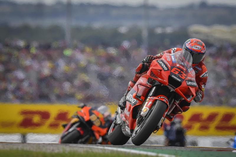 Francesco Bagnaia (Italia/Ducati), target mengulang kemenangan di Sirkuit Misano. (Foto: motogp)