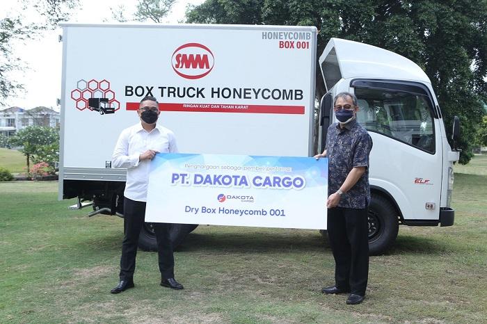 PT SSD meluncurkan Dry Box Honeycomb Eco-Box untuk mendukung angkutan logistik