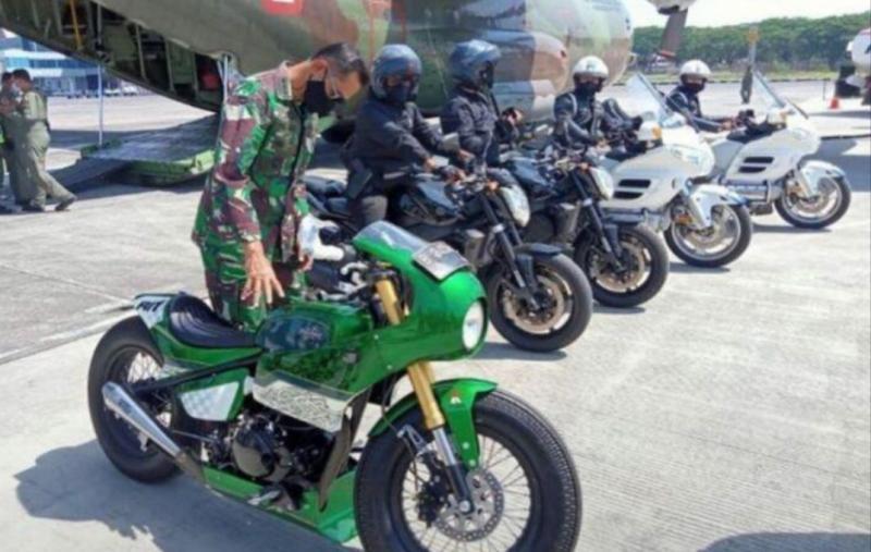 Motor ini yang akan dipakai Presiden Jokowi menjajal sirkuit Mandalika Lombok NTB, Kamis esok