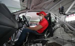 Pembalap andalan Honda Racing Indonesia, Avila Bahar siap lanjutkan tren positif setelah mencetak hattrick kelas ITCR 1500 Seeded B ISSOM 2021
