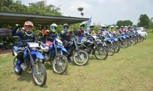 Belajar di Yamaha Riding Academy Offroad, semakin mahir riding WR 155 R