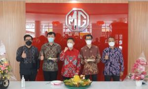 Peresmian outlet MG Riau di kota Pekanbaru, MG terus menggempur pasar otomotif Indonesia