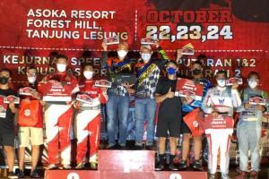 Dijepit 2 Senior, H Rihans Variza Juarai Merdeka Sprint Rally 2021 di Asoka Tanjung Lesung