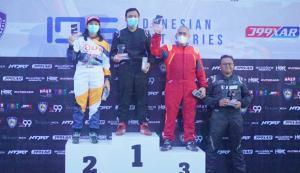 Rio Saputro Boediharjo raih P1 kelas Pro Kejurnas Indonesia Drift Series round 2 di J99 Maxx Drift Circuit, Karawaci, Tangerang hari ini