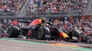 Red Bull Honda di depan penonton yang melimpah di COTA, mendadak favorit masuk raceday esok. (Foto: todayin24)