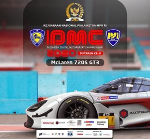 Round final Kejurnas IDMC 2020 memperebutkan Piala Ketua MPR-RI akan dihelat di sirkuit virtual Sentul International Circuit, Minggu (31/10/2021)