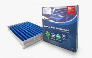 Filter Air cabin Filter Antibacterial untuk memberikan udara yang bersih dalam kabin mobil Daihatsu